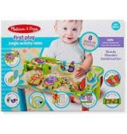 Melissa & Doug Baby First Play Jungle Activity Table