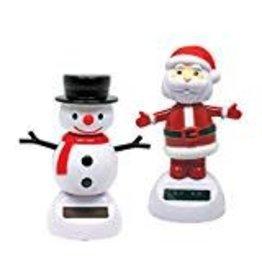 Streamline Holiday Solar Dancer (Santa and Frosty)