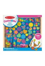 Melissa & Doug Craft Kit Created By Me! Bead Bouquet Deluxe Wooden Bead Set