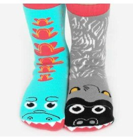 Pals Socks Pals Socks - Ages 4-8 Giant Gorilla & Mutant Lizard