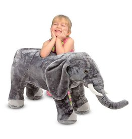 Melissa & Doug Plush Giant Elephant