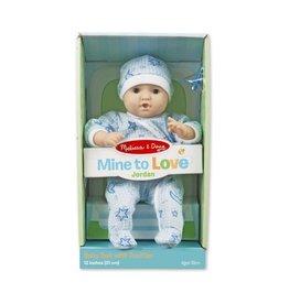 "Melissa & Doug Mine to Love - Jordan 12"" Doll"