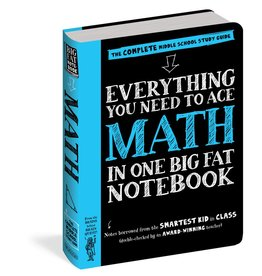 Workman Publishing Co Book - Everything You Need to Ace Math