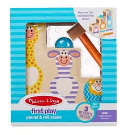 Melissa & Doug Pound & Roll Stairs