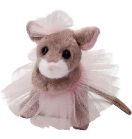 Douglas Tippy Toe Mouse W/Tutu