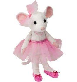 Douglas Petunia - White Mouse W/Tutu (Small)