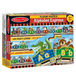 Melissa & Doug Floor Puzzle - Alphabet Express - 27 Piece