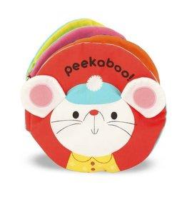 Melissa & Doug Baby Soft Book - Peekaboo Cloth Book