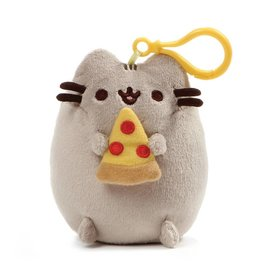 Gund Plush Pusheen Snackable Clip Pizza