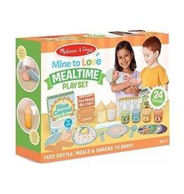Melissa & Doug Mine to Love Mealtime Play Set