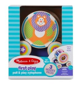 Melissa & Doug Baby First Play Pull & Play Xylophone