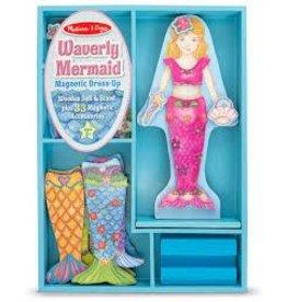 Melissa & Doug Merry Mermaid Magnetic Dress Up