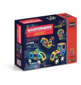 Magformers Magformers Wow - Vehicles Set (27 Piece)