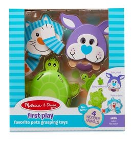 Melissa & Doug Favorite Pets Grasping Toys