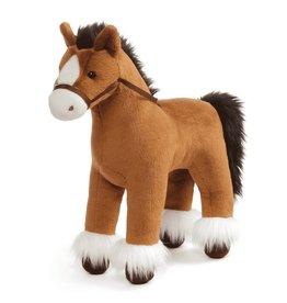 """Gund Plush Dakota Clydesale Horse 15"""" Brown"""