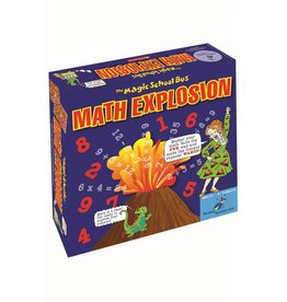The Young Scientist Club Magic Schoolbus Math Explosion Board Game