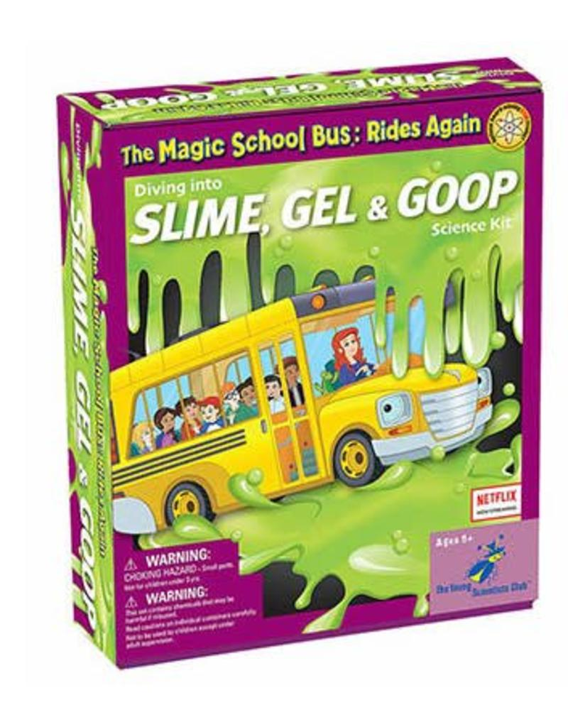 The Young Scientist Club Magic School Bus - Diving into Slime, Gel, and Goop