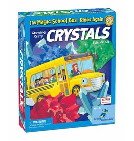 The Young Scientist Club Magic School Bus Rides Again Growing Crazy Crystals