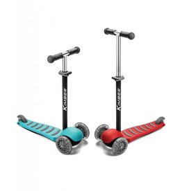 PlaSmart Inc Kimber Verve 3-Wheel Jr Kick Scooter - Red