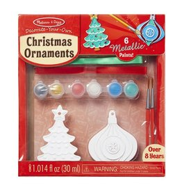 Melissa & Doug Craft Kit Created by Me - Christmas Ornaments