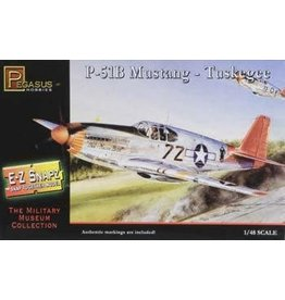 Pegasus Hobbies P-51B Tuskegee Airm