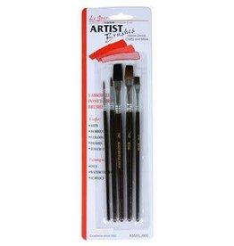 Linzer Assorted Five Linzer Artist Brushes