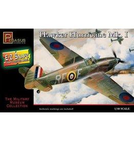Pegasus Hobbies 1/48 Snap, Hawker Hurricane Mk1 Model Plane