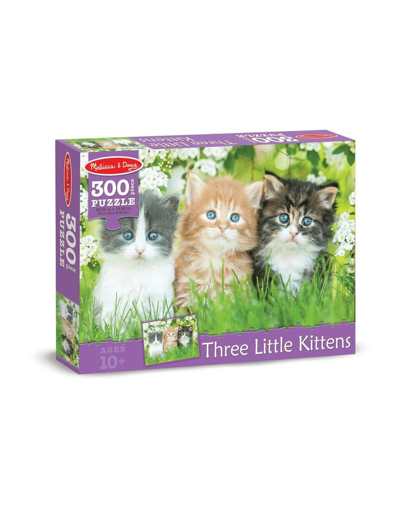 Melissa & Doug Three Little Kittens Cardboard Jigsaw