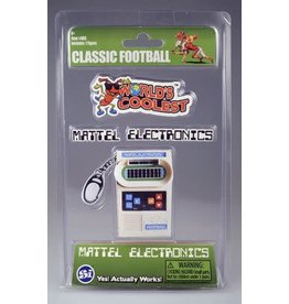 Super Impluse USA Worlds Coolest Mattel Electronic Games keychain-Football