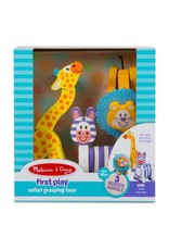 Melissa & Doug Baby First Play Safari Grasping Toys