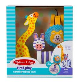 Melissa & Doug First Play Safari Grasping Toys