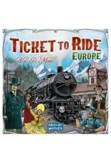 Asmodee Game - Ticket to Ride Europe