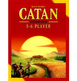 Asmodee Game - Catan Extension 5-6 Player