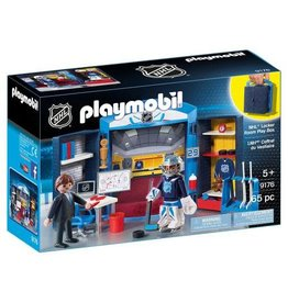 Playmobil Playmobil NHL - Locker Room Play Box