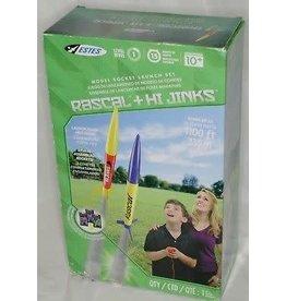 Estes Rockets Rascal and Hi Jinks Rocket