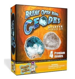 Dr. Cool Science Starter Geode-4pcs