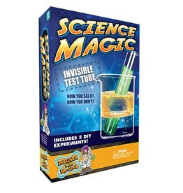 Discover with Dr Cool Science Magic - Invisible test tube