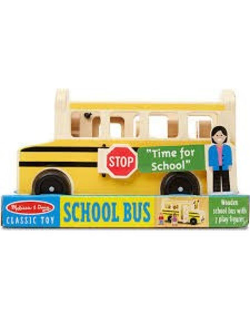 Melissa & Doug Wooden School Bus