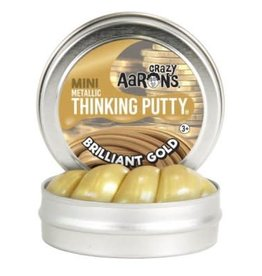 Crazy Aaron Putty Crazy Aaron's Thinking Putty - Mini Brilliant Gold