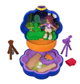 Mattel Polly Pocket Out of Sight Campsite Compact