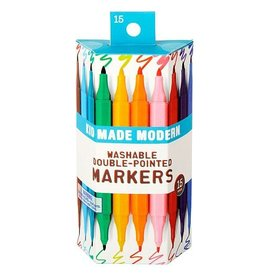Washable Double-Pointed Markers