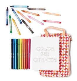 Kid Made Modern Craft Kit Kid Made Modern On-the-Go Coloring Kit
