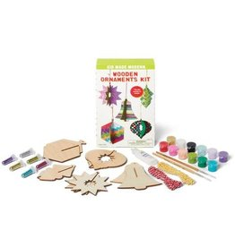 Kid Made Modern Wooden Ornaments Kit