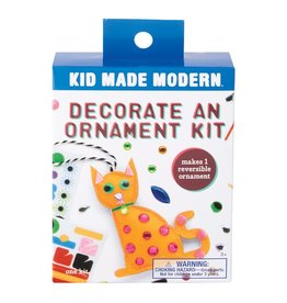 Kid Made Modern Decorate An Ornament Kit - Cat