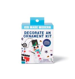 Kid Made Modern Decorate An Ornament Kit - Snowman