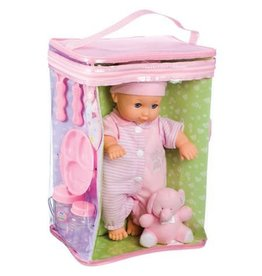"""Toy Smith Deluxe Baby Ensemble 11.5"""" Doll Playset"""