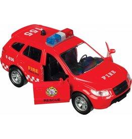 Toysmith Toysmith - Police Fire EMS - Pullback Assorted