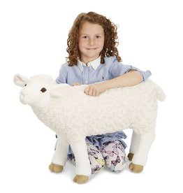 Melissa & Doug Sheep Lifelike Plush