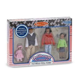 Melissa & Doug Victorian Doll Family - African-American