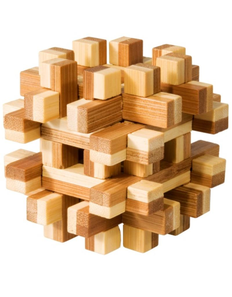 Fridolin IQ Test Bamboo Puzzle - Magic Blocks #1